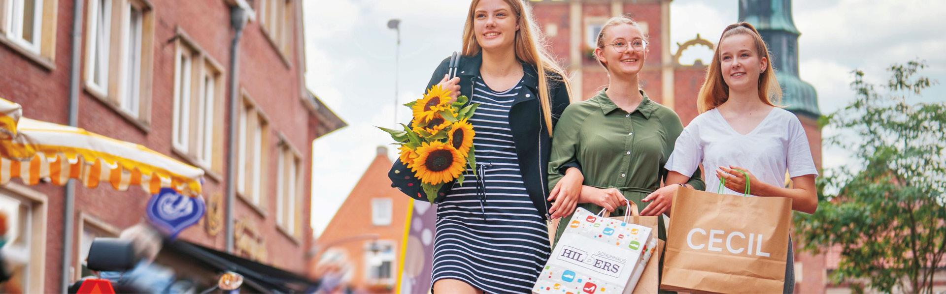 Stadt Meppen - Shoppingtour