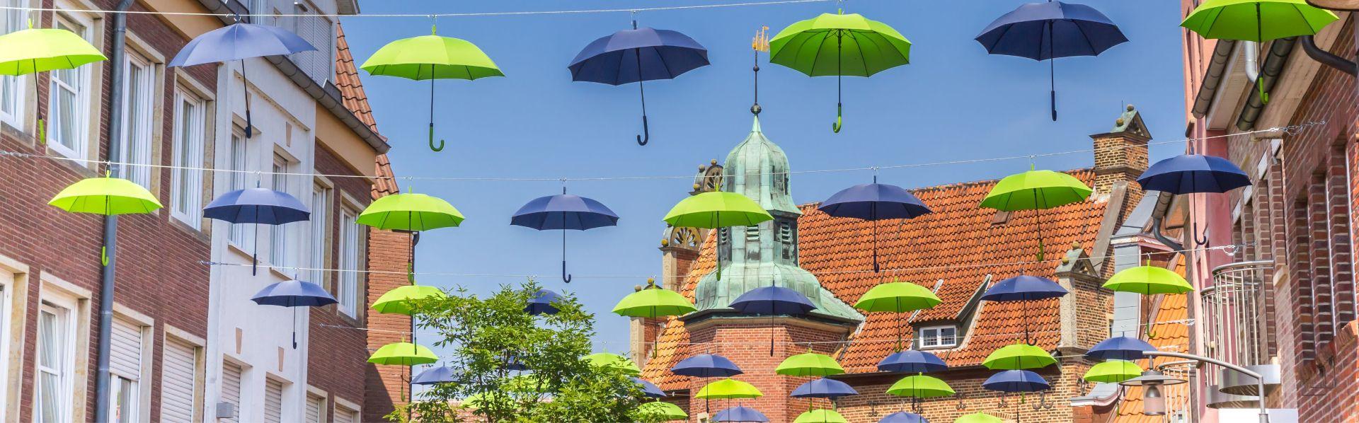 Meppener Sommer - Regenschirme