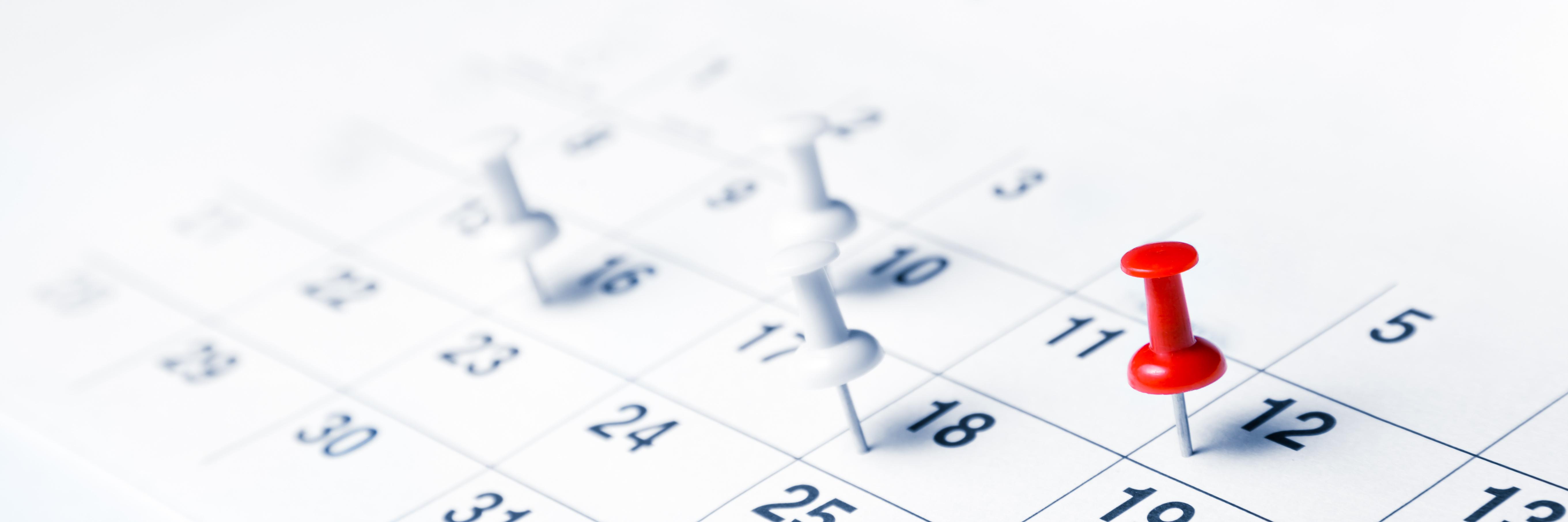 Veranstaltungen Kalenderblatt©©Alva Steury - stock.adobe.com