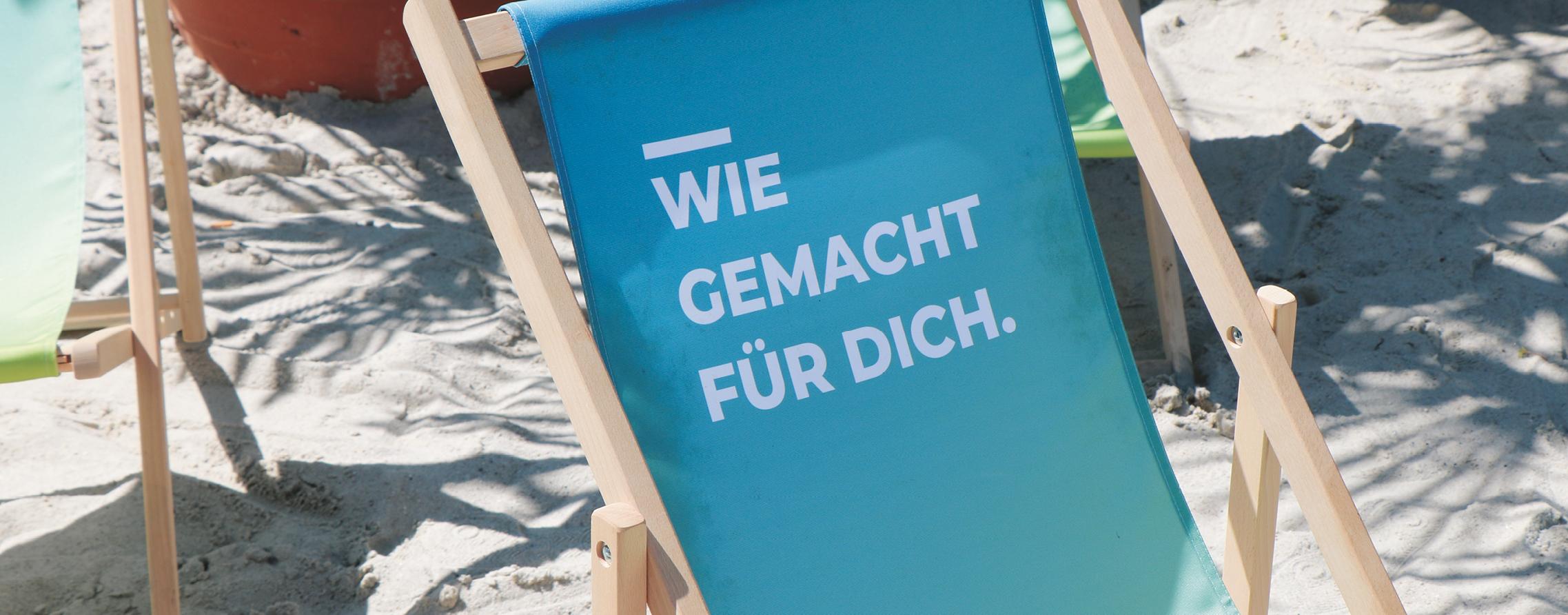 Infoblock Meppener Sommer Sonnenliege©Stadt Meppen