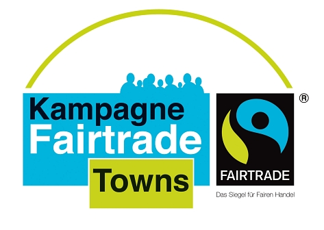 Logo Kampagne Fairtrade Towns © TransFair e. V.